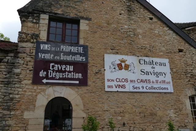 CHateau de Savigny im Burgund